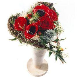 Herzstrauss - Blumen Bergmann