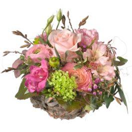 Süsser Frühlingskorb - Blumen Bergmann