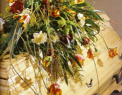 Trauer Blumen Bergmann