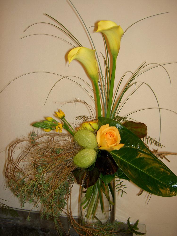 Blumenstraus gelb - Blumen Bergmann
