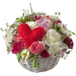 ein Korb voll Liebe - Blumen Bergmann