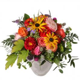 fröhlicher Sommerstrauss - Blumen Bergmann Bolligen