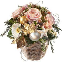 Romantisches Gesteck - Blumen Bergmann